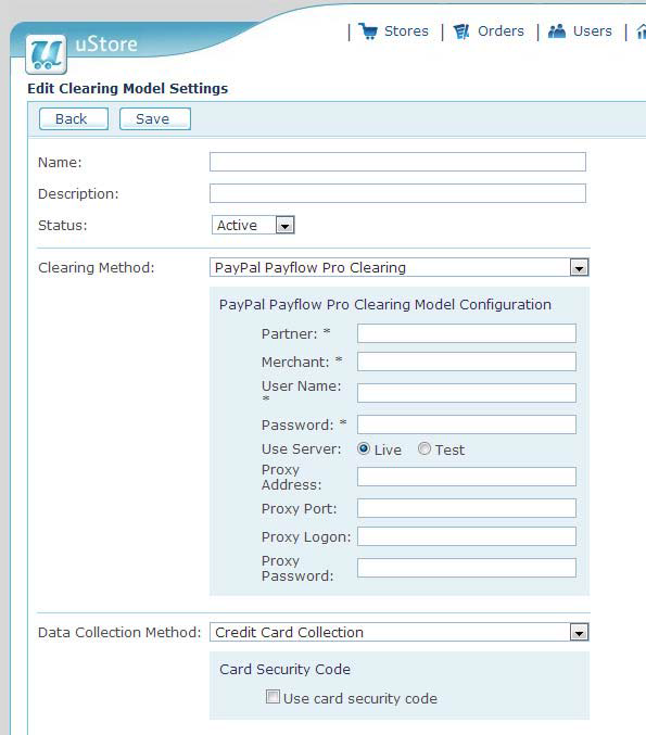 0052 Configuring initial settings after uStore installation
